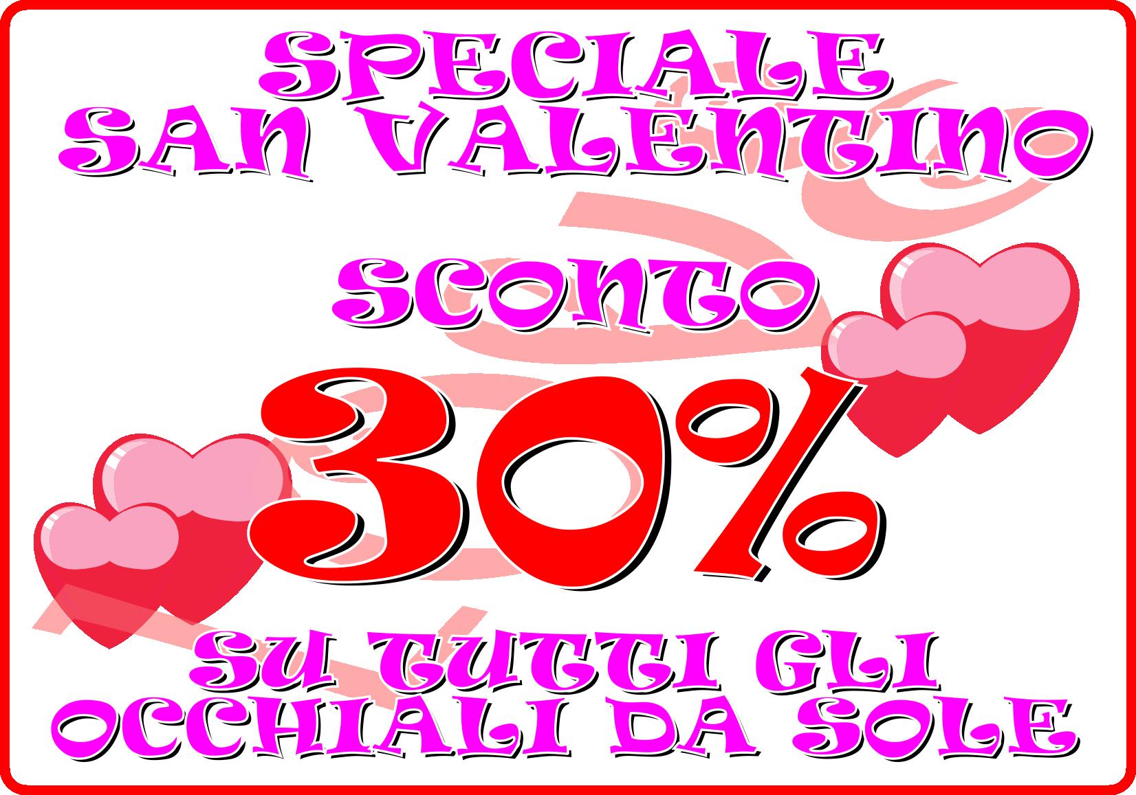 San Valentino è più bello con gli sconti di Ottica Galli Atelier!