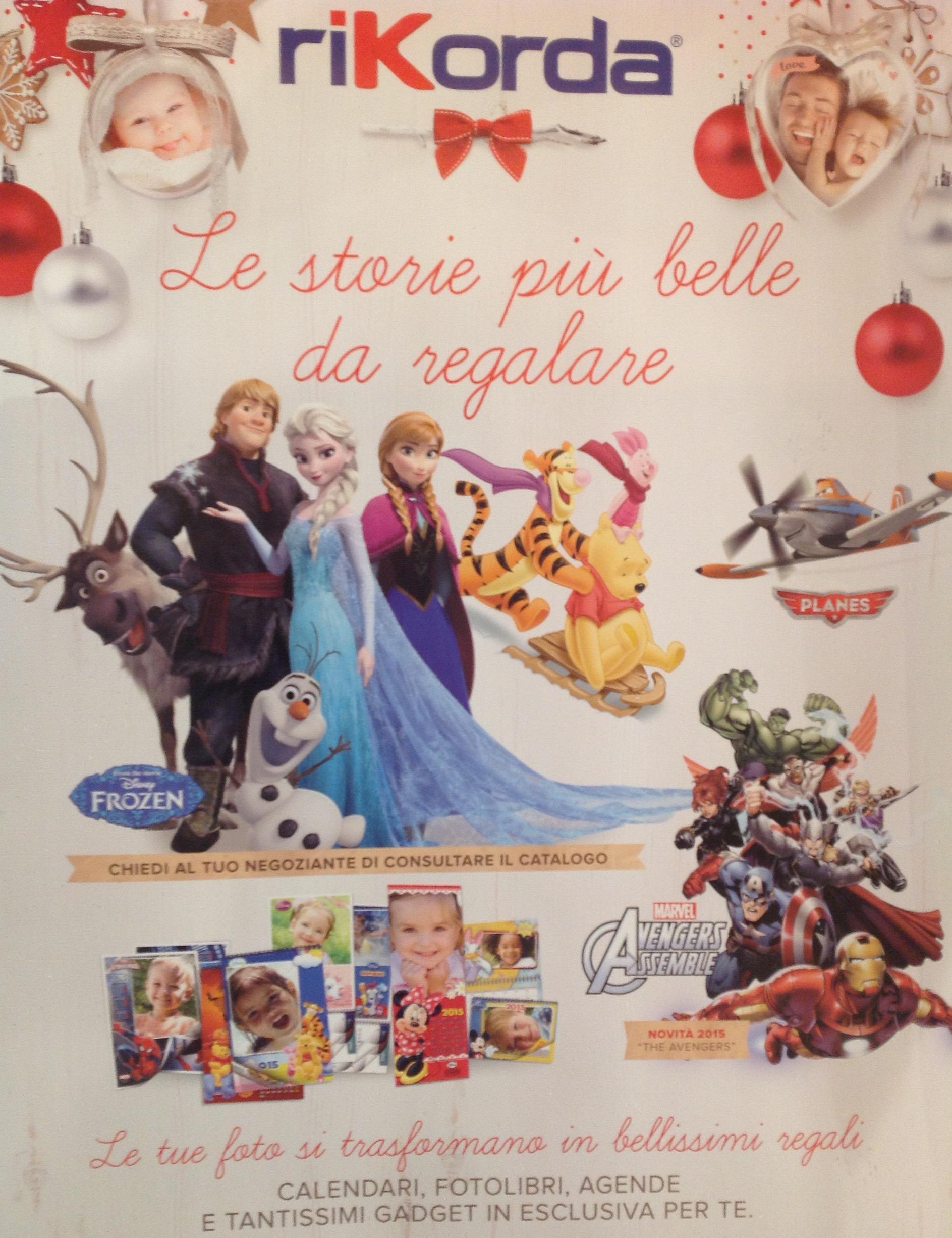 Calendario Rikorda.Calendari E Gadget Di Natale Ottica Galli Srl