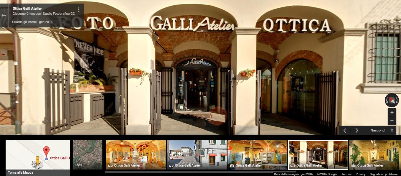 Visita virtuale al nostro negozio…