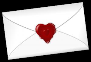 Busta chiusa san valentino