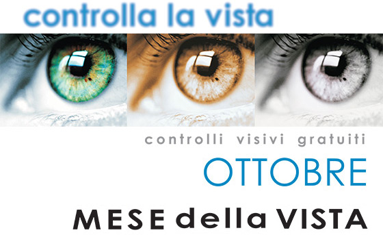 Ottobre mese della vista: la prevenzione è importante!