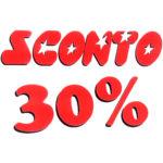 Sconto 30%